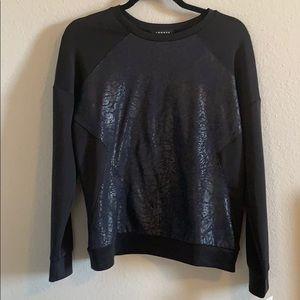Black trouve blouse
